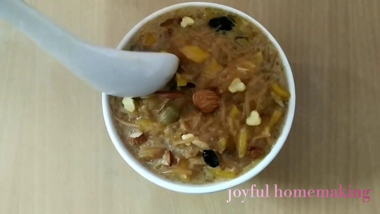 Jackfruit Payasam sweet recipe /Easy sweet recipe /fruit payasam