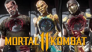 "Mortal Kombat 11: Joker ""Pop Goes The Mortal"" Fatality Performed on all Characters"