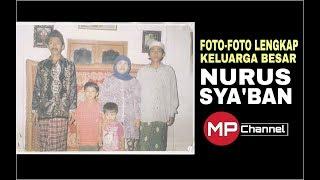 Foto lengkap keluarga Nurus Sya'ban