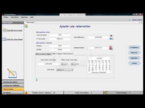 Car Rental Software (Gestion agence de location)