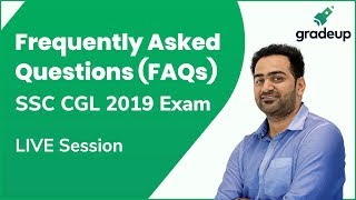 Post your doubts related to CGL Exam Here | FAQs LIVE Session @ 5:30 PM