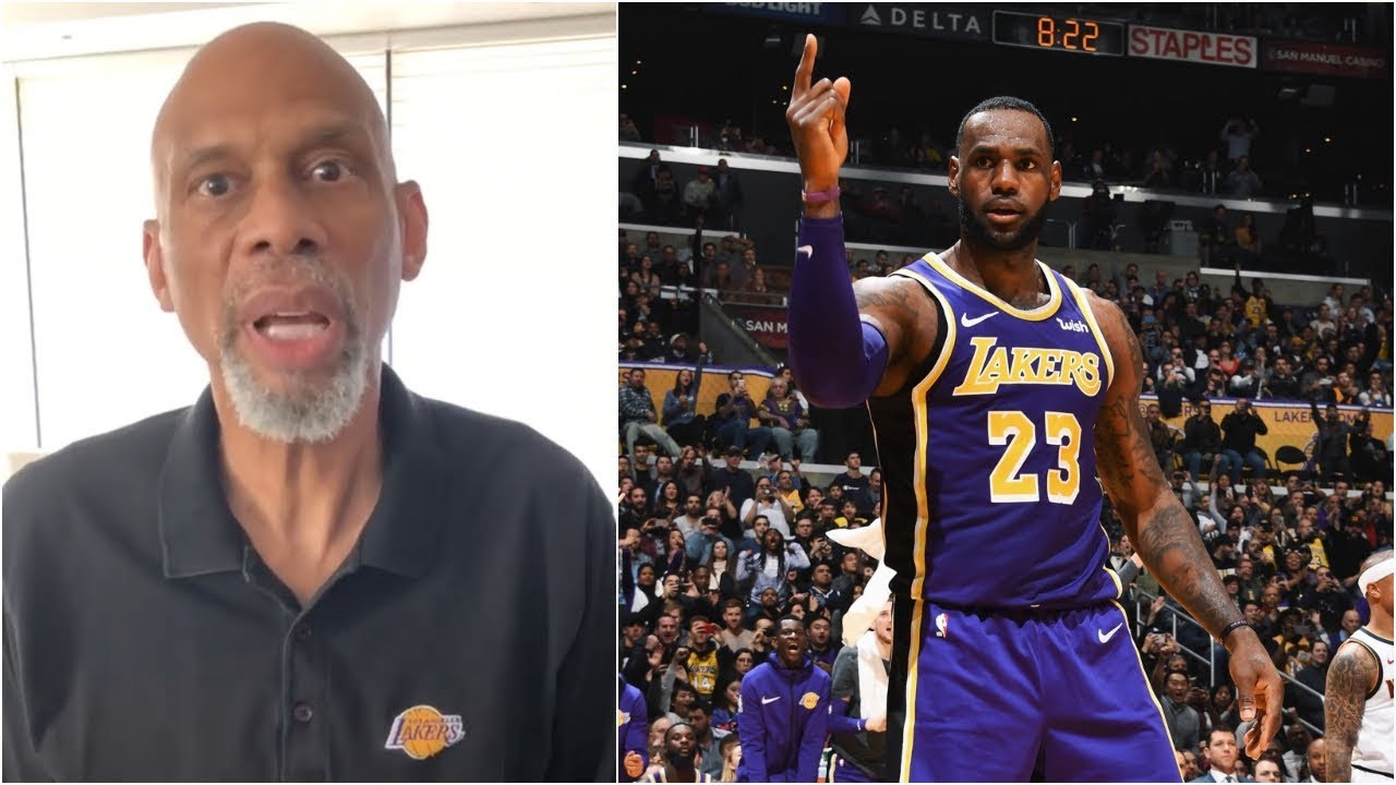 4e0bea47ea80 Kareem Abdul-Jabbar on what he s going to do if LeBron passes him on the  scoring list