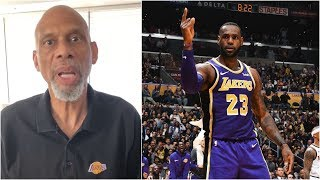 Kareem Abdul-Jabbar on what he's going to do if LeBron passes him on the scoring list