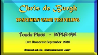 Spaceman Came Traveling -  Chris de Burgh - Live -   Toads Place & WPLR