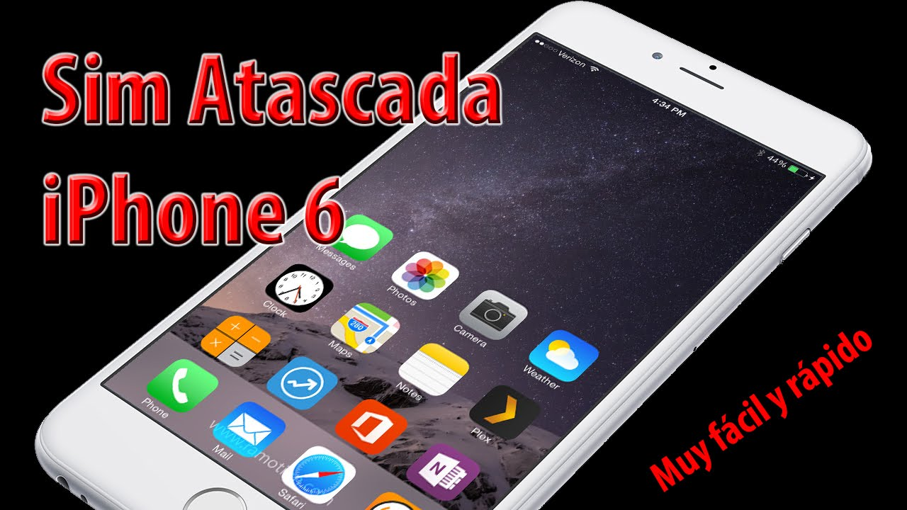iphone 6 sim sim atascada iphone 6 11415