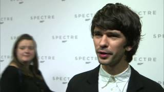 "Spectre: Ben Whishaw ""Q"" Interview on the new James Bond Movie"