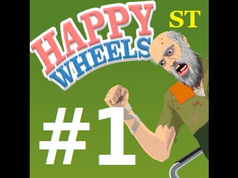 DINOSAURS AND HOTELS! - HAPPY WHEELS (Walkthrough Playthrough Commentary Part 1)