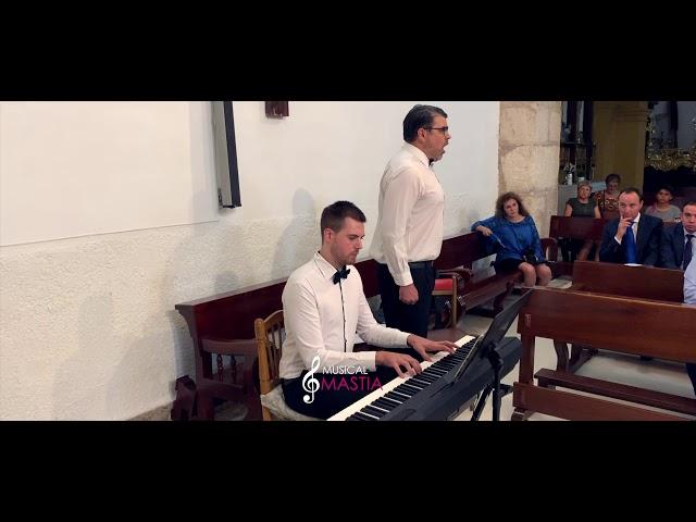 🎤 Ave Maria | Tenoy y Piano | Musica para Bodas | Musical Mastia