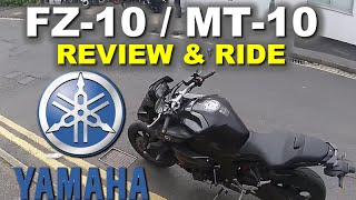 Yamaha FZ-10 / MT-10 Review and full ride - Best Yamaha yet?