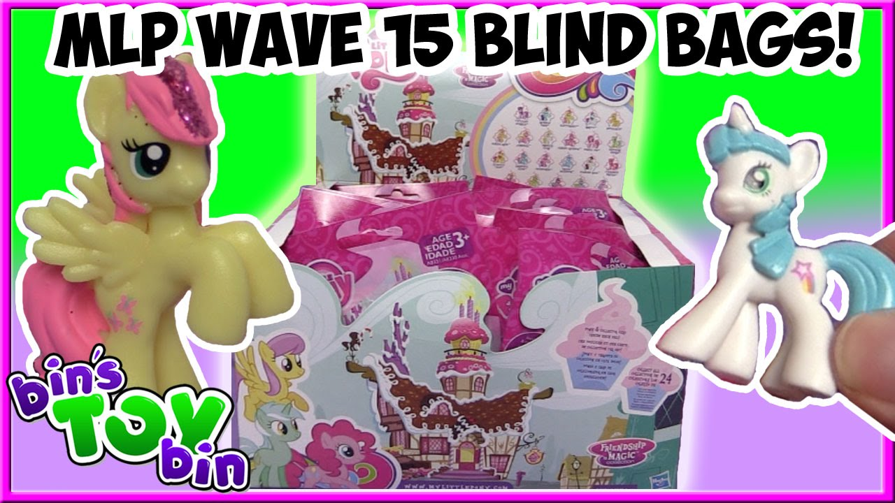 My Little Pony Wave 15 Blind Bags Full Case Opening Pt 1 Bin S