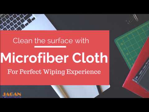 Microfiber cleaning cloths | Perfect Wiping | clean the surface