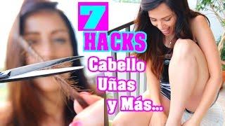 Eliminar Doble Puntas del Cabello y 7 Trucos Más de Belleza! SandraCiresArt