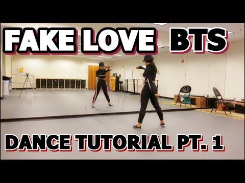 BTS (방탄소년단) 'FAKE LOVE' DANCE TUTORIAL PART 1