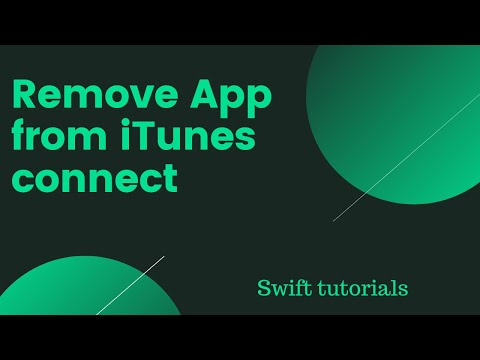 Remove App From ITunes Connect Dashboard