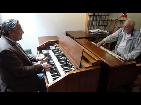 Fogarasi János - Csík Gusztáv: organ jam 2011