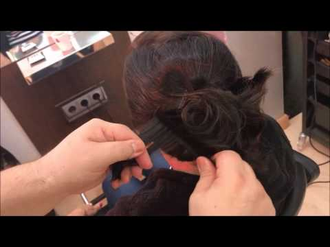 trucos para un peinado recogido sencillo, How to make a hairstyle collected