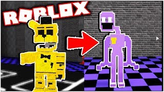 Ultimate Custom Night RP Morphs! Five Nights at Freddy's Roblox