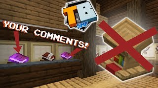 Dreams of a Lectern; Reading YOUR COMMENTS! - Truly Bedrock #3 - Bedrock Edition Youtube Server