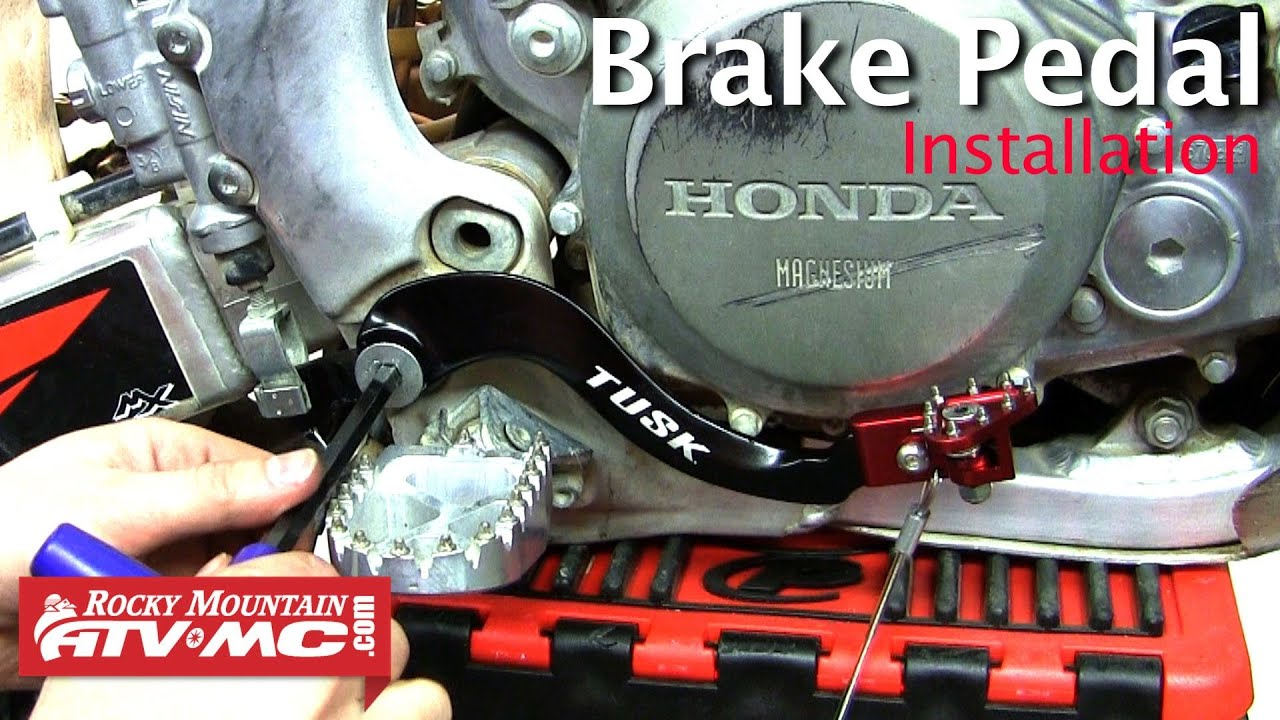 Tusk Aluminum Motorcycle Brake Pedal Installation Youtube Klx 250 Wiring Diagram