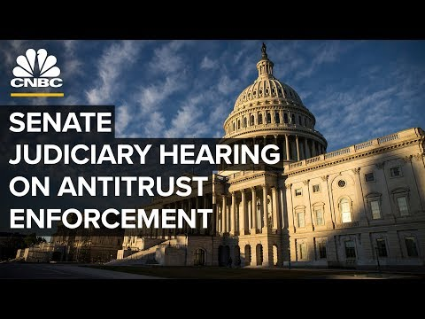 Senate Judiciary Committee holds a hearing on enforcement of antitrust laws – 09/17/2019