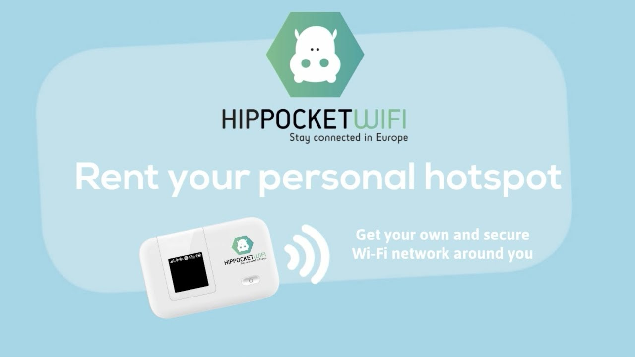HIPPOCKETWIFI - pocket wifi rental in France and Europe