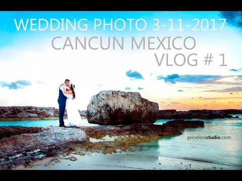 Flying To Cancun Mexico To Photo Shoot Devyn & Robbie Wedding By Pricelessstudio.com   3-11-2017
