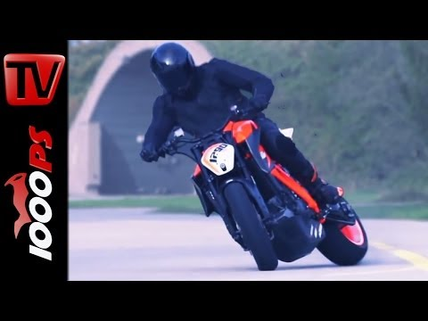 ☆Actionvideo☆ KTM 1290 Super Duke R Prototype ☆Real Driving Scenes☆