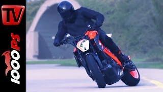 ☆Actionvideo☆ KTM 1290 Super Duke R Prototype ☆Real Driving Scenes☆