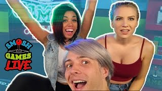 ONE OF US IS A LIAR...(Smosh Games Live)