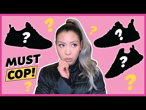 3 Sneakers You NEED Right Now | 2018