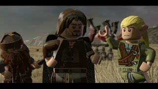 LEGO Lord of the Rings Walkthrough Part 16 - Battle of Pelennor Fields