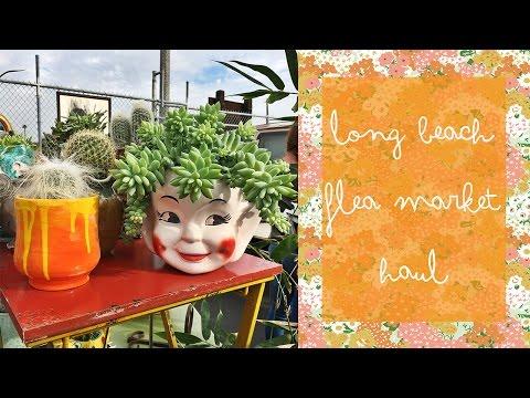 Long Beach Flea Market Haul   Emily Vallely