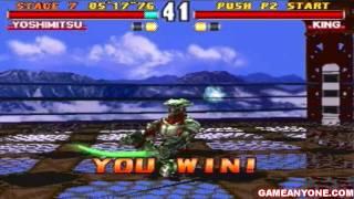 Tekken 3 - [HD] - Yoshimitsu Playthrough