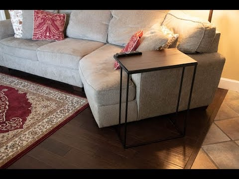 Easy DIY Metal Side Table with a Blowtorch