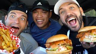 ILYA'S RETURN TO THE MUKBANGS!! Trying Nashville Hot Chicken!!