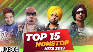 Top 15 Nonstop Hits | Diljit Dosanjh | Jassi Gill | Gurnaam Bhullar | Parmish Verma | New Songs 2019