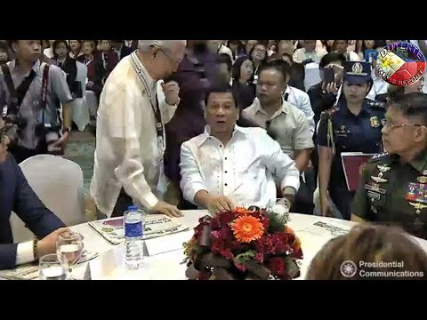 PRESIDENT DUTERTE AT THE 7th MANILA TIMES BUSINESS FORUM IN DAVAO CITY !