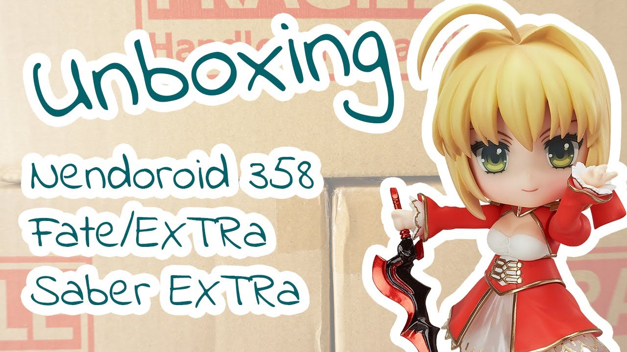 In STOCK Nendoroid Fate//Extra Saber Extra 358 Action Figure re-run