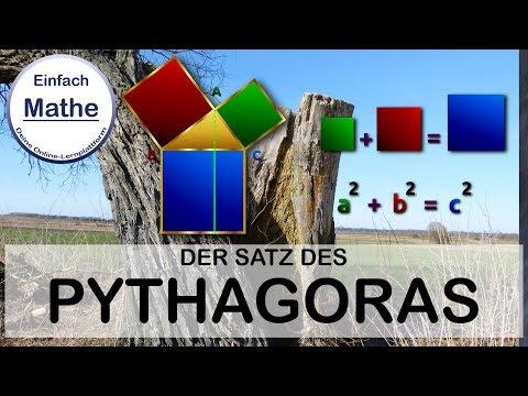 satz des pythagoras anwendung textaufgabe by einfach mathe youtube. Black Bedroom Furniture Sets. Home Design Ideas