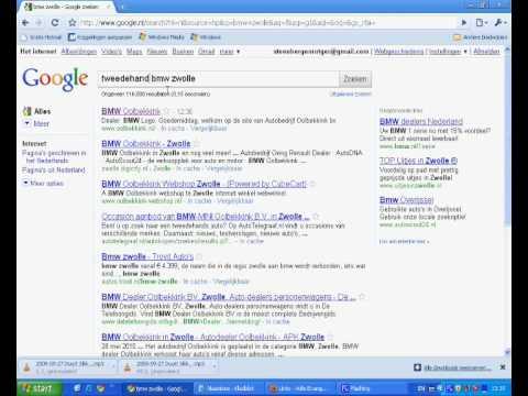 zoekmachine optimalisatie rapport