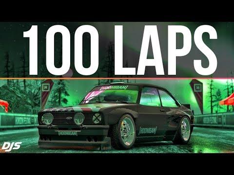 Forza Horizon 4 - 100 LAPS IN 1 SKILL-CHAIN!! thumbnail