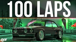 Forza Horizon 4 - 100 LAPS IN 1 SKILL-CHAIN!!