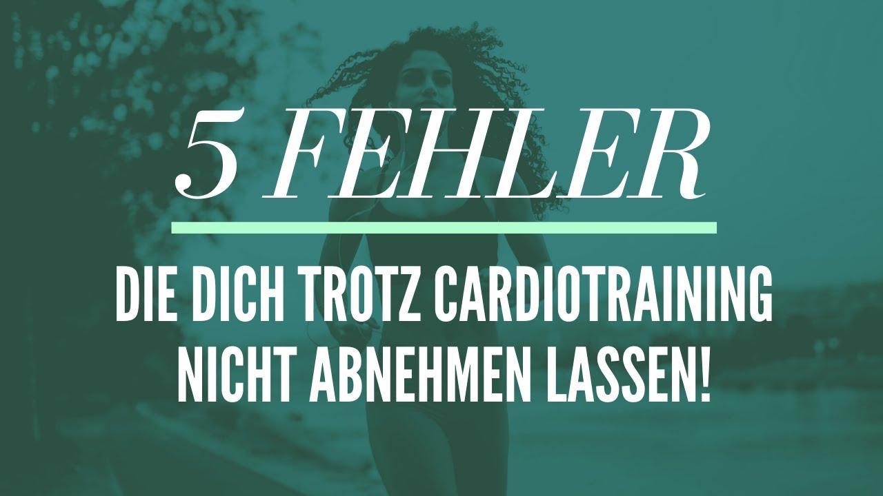 5 Fehler, die dich trotz Cardiotraining nicht abnhemen lassen!