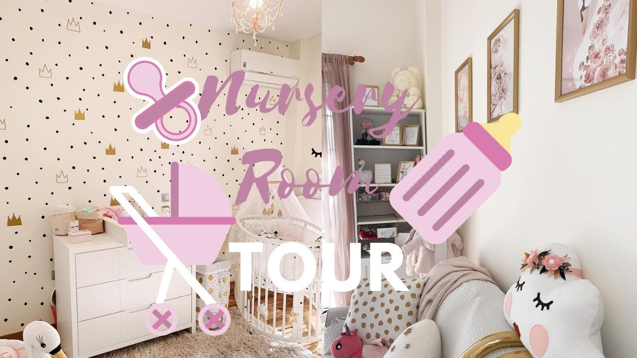VLOG BABY NURSERY - BABY ROOM TOUR || GIO DREVELI || - YouTube