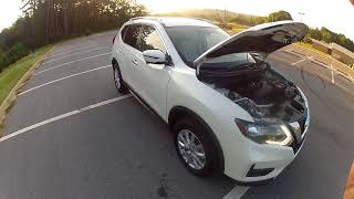 2017 Nissan Rogue SV walkaround POV owner review test drive 0-60 10k mile review