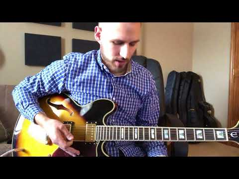 Christ the Lord is Risen Today (He is not dead) - Lead Guitar Tutorial