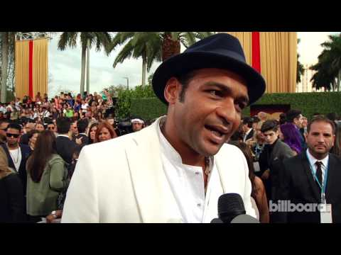Descemer Bueno: 2014 Billboard Latin Music Awards Red Carpet