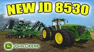 FARMING SIMULATOR 2017 | NEW JOHN DEERE 8530 | $250,000 PURCHASE | PLANTING | EP #6