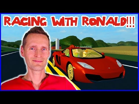 Racing Ronald in Ultimate Driving!