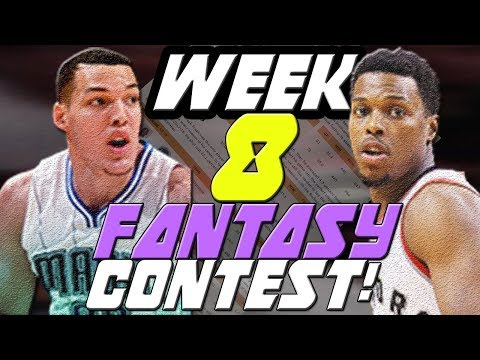 Fantasy Basketball 2018 Waiver Wire Pickups/CONTEST WINNER - Week 8